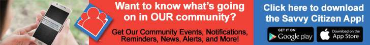 Get Community Event Reminders, Notifications, News and More from the Savvy Citizen app!